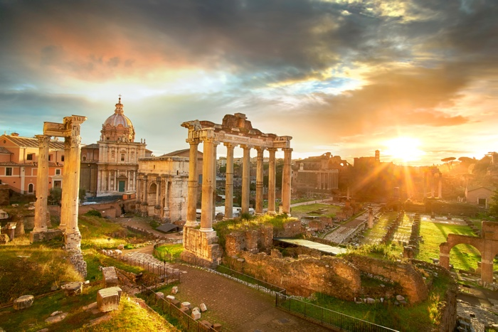 stedentrip rome forum