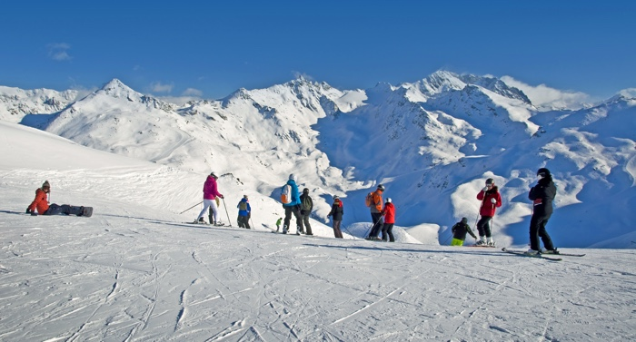 single wintersport groep