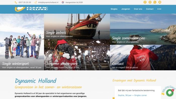 dynamic holland website