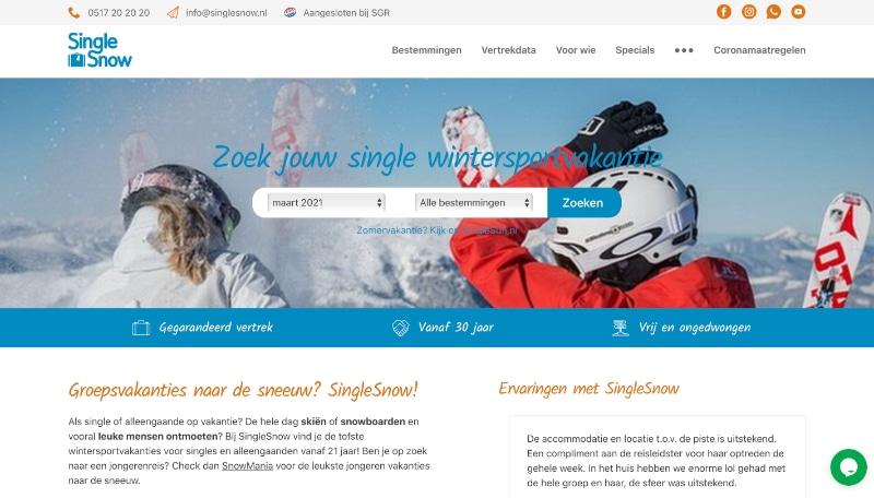 singlesnow website
